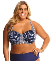 BLEU Rod Beattie Plus Size I've Got You Babe Sling X Back Bikini Top