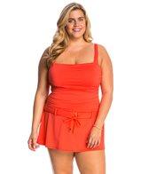 BLEU Rod Beattie Plus Size Net Worth Swimdress