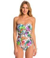 La Blanca Calypso Island Cut-Out Bandeau One Piece Swimsuit