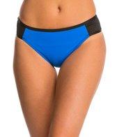 La Blanca Technicolor Side Tab Hipster Bikini Bottom