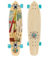 Sector 9 Bamboo Ft. Point Complete Longboard Skateboard