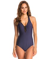 Nautica Net Effect One Piece Swimsuit