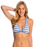 Splendid Cayman Stripe Halter Bikini Top