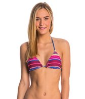 Billabong Swimwear Meshin With You Reversible Triangle Bikini Top