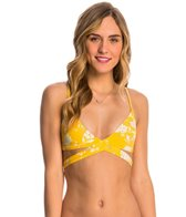 Billabong Swimwear Festival Floral Wrap Bralette Bikini Top