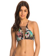 Rip Curl Swimwear Sweet Escape Hi Neck Crop Bikini Top
