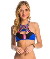 Rip Curl Swimwear Sun Warrior High Neck Crop Bikini Top