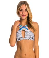 Rip Curl Swimwear Carmenta High Neck Crop Bikini Top