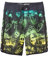 Billabong Boys' Bad Billys Scallop Boardshort  (8-20)