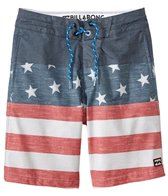 Billabong Boys' Tribong Interchange Lo Tides Boardshort (8-20)