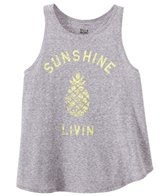 Billabong Girls' Sunshine Livin Tank Top (4-14)