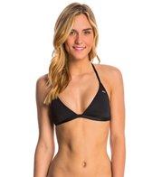 Roxy Swimwear Souk Paisley Racerback Fixed Tri Bikini Top