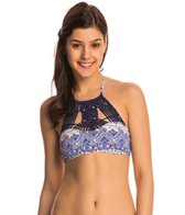 Roxy Swimwear Souk Paisley Crop Bikini Top