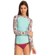 Roxy Swimwear Long Sleeve Rash Guard