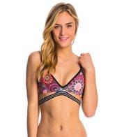 Hurley Swimwear Turkish Floral Sport Bra Bikini Top