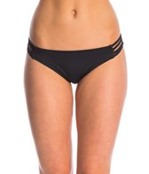 Hurley Swimwear Solid Spider Bikini Bottom