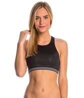 Hurley Swimwear Glisten High Neck Bikini Top