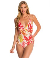 Vince Camuto Crete Flower Bind Surplus One Piece Swimsuit