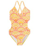 Roxy Girls' Sunrise Summer One Piece Swimsuit (7-16)