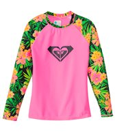 Roxy Girls' In the Tropics Long Sleeve Rash Guard (7-16)