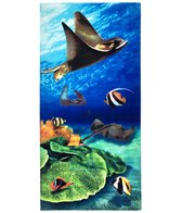 dohler USA Stingray Beach Towel 30 x 60