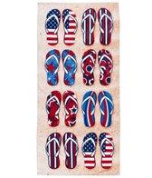 dohler USA American Flip Flop Beach Towel 30 x 60