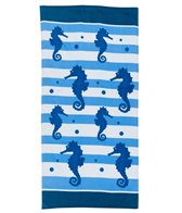 dohler USA Sea Horses Beach Towel 30 x 60