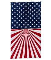 dohler USA Vintage American Flag Beach Towel 40 x 70