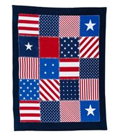 dohler USA American Patchwork Beach Towel 58 x 74