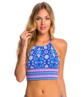 BLEU Rod Beattie California Dreamin' High Neck Crop Top