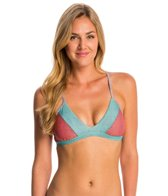 Swim Systems Labyrinth Strappy Back Bralette Bikini Top