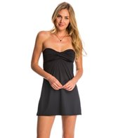 Swim Systems Onyx Bandeau Cover Up Swim Dress