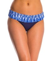 Anne Cole Indigo Tide Fold Over Bikini Bottom