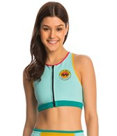 Billabong Women's 0.5 Surf Vibes Keep it Salty Solid Front Zip Wetsuit Top