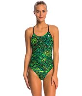 TYR Heat Wave Cutoutfit One Piece Swimsuit