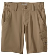Under Armour Boys' Solid Shark Bait Cargo Short (6-20)