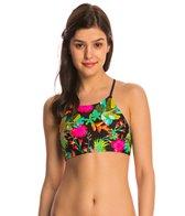 Body Glove Swimwear Akela Elena High Neck Crop Bikini Top