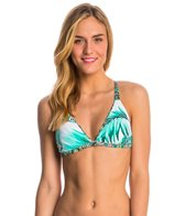 Body Glove Swimwear Tropi-Cal Flare Reversible Triangle Bikini Top
