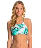 Body Glove Swimwear Tropi-Cal Elena Reversible High Neck Crop Bikini Top