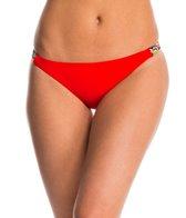 Red Carter Friendship Bracelet Classic Hipster Bikini Bottom