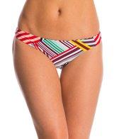 Red Carter Mediterranean Vacation Reversible Cali Hipster Bikini Bottom