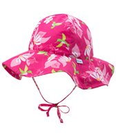 iPlay Girls' Tropical Brim Sun Hat (0mos-4)