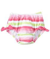 iPlay Girls' Classic Bow Swimsuit Bottom w/Built-in Swim Diaper (6mos-4T)