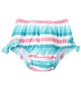 iPlay Girls' Classic Bow Swimsuit Bottom w/Built-in Swim Diaper (6mos-4T)
