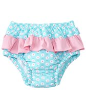 iPlay Girls' Classic Ruffle Swimsuit Bottom w/Built-in Swim Diaper (6mos-3T)