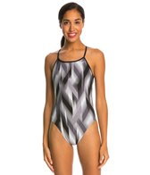 Nike Beam Modern Cut Out Tank One Piece Swimsuit