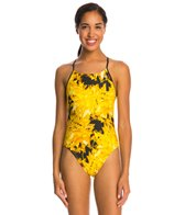 Nike Gemstone Cut Out Tank One Piece Swimsuit