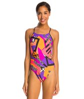 Nike Retro Cut Out Tank One Piece Swimsuit