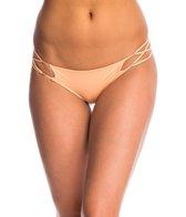 Indah Sasa Solid Matte Criss Cross Bikini Bottom