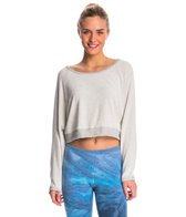 Hard Tail Crop Yoga Cover Up